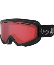 Bolle 21485 Schuss brillante negro - gafas de esquí arma Vermillon