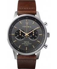 Triwa NEST114-CL010412 reloj nevil ahumado