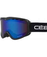 Cebe CBG108 OTG cresta amarilla negro - marrón destello azul gafas de esquí