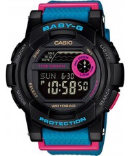 Casio BGD-180-2ER Señoras baby-g g-lide negro reloj azul