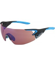 Bolle gafas de sol quinto elemento azul pro-mate de carbono aumentó azules