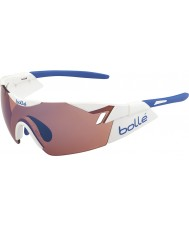 Bolle 6 ° sentido blanco brillante rosa gafas de sol azules