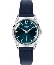 Henry London HL30-US-0069 Señoras de Knightsbridge reloj de plata azul