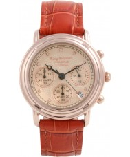 Krug-Baumen 150575DM para hombre de diamante principio aumentaron reloj cronógrafo de oro