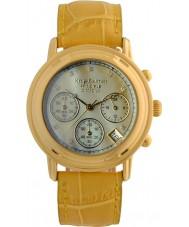 Krug-Baumen 150574DM Para hombre reloj cronógrafo principio de diamante