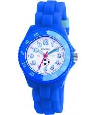 Tikkers TK0002 Cabritos del reloj de goma azul