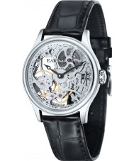 Thomas Earnshaw ES-8049-01 reloj esquelético mecánico negro para hombre Bauer