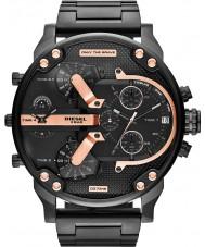 Diesel DZ7312 Mens mr papá reloj multifunción 2.0 ip negro