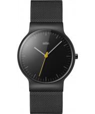 Braun BN0211BKMHG Reloj para hombre pulsera de acero negro delgado clásico