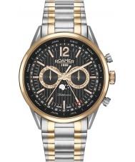 Roamer 508822-49-54-50 Reloj para hombre pulsera multifunción dos tonos de negocio superior