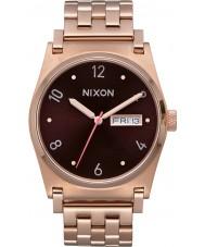 Nixon A954-2617 Jane damas chapado en oro rosa reloj pulsera