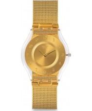 Swatch SFK355M reloj de pulsera de acero de oro generosidad