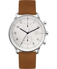 Zoom ZM-7148M-2501 Para hombre reloj refinar marrón blanco