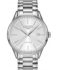 Roamer 508833-41-15-50 Mens 3h superior de dos tonos reloj de pulsera de acero