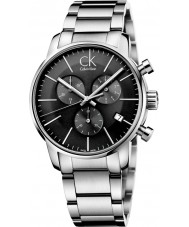 Calvin Klein K2G27143 ciudad para hombre gris plata reloj cronógrafo