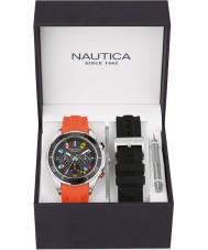Nautica NAD18531G Mens nst watch set de regalo