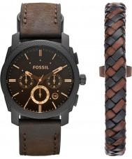 Fossil FS5251SET Conjunto de regalo para reloj de máquina para hombre