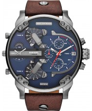 Diesel DZ7314 Mens mr papá 2,0 azul reloj multifunción de color marrón