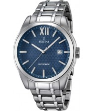 Festina F16884-3 Para hombre reloj automático de plata deportivo
