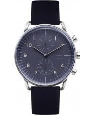 Zoom ZM-7148M-2503 Mens refinar reloj negro azul
