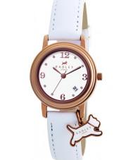 Radley RY2006 reloj de la correa de cuero blanco damas encanto