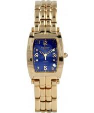 Krug-Baumen 1964DMG Tuxedo oro 4 diamante de la correa de oro esfera azul
