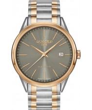 Roamer 508833-49-05-51 Mens 3h superior de dos tonos reloj de pulsera de acero