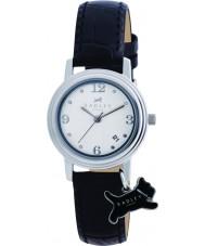 Radley RY2007 reloj de la correa de cuero negro de las señoras encanto