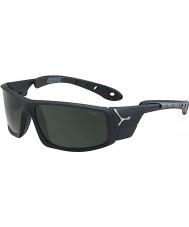 Cebe 8000 gafas de sol de hielo mate gris negro