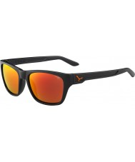 Cebe Hacker naranja espejo opaco gris 1500 gris de flash gafas de sol