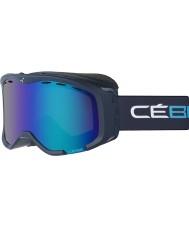 Cebe CBG113 Cheeky azul cian y OTG - Flash marrón gafas de esquí azul