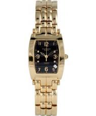 Krug-Baumen 1965DMG Tuxedo oro correa de oro negro de línea 4 del diamante