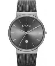 Skagen SKW6108 Reloj para hombre de la correa de malla gris ancher