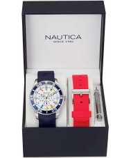 Nautica NAI13502G Mens nst watch set de regalo
