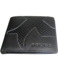 Police PASLGA07-023 Notus ii monedero negro y gris