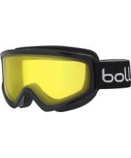Bolle 21492 Congelar negro brillante - gafas de esquí de limón