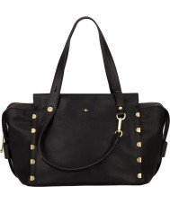 Nica NH6161-BLACK Kendall damas bolsa de bombín negro