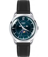 Henry London HL39-LS-0071 reloj negro azul Knightsbridge