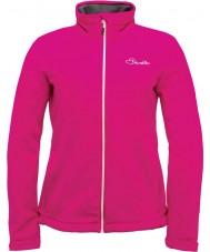 Dare2b DWL316-1Z018L Damas atento chaqueta rosa eléctrico de caparazón blando - el tamaño de uk 18 (XXL)