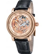 Thomas Earnshaw ES-8040-03 reloj de la correa de cuero negro para hombre longcase 43mm