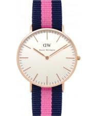 Daniel Wellington DW00100033 Damas clásico 36mm Winchester reloj de oro rosa