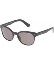 Police Mens maestro de 4 spl143-703p mates gafas de sol polarizadas negro