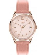 Henry London HL39-S-0156 Damas pálido shoreditch reloj color de rosa nude oro