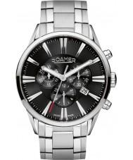 Roamer 508837-41-55-50 reloj cronógrafo de acero de plata para hombre superiores