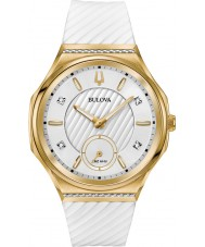 Bulova 98R237 Reloj de las señoras curv del diamante