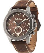 Timberland 14810JSU-12 reloj de cuero para hombre marrón Warner
