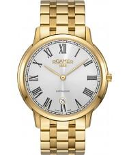 Roamer 515810-48-22-50 Mens superslender reloj de pulsera de acero de oro