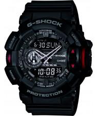 Casio GA-400-1BER reloj cronógrafo para hombre negro g-shock