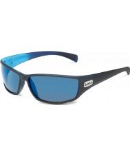 Bolle Pitón negro mate azul gb-10 gafas de sol polarizadas