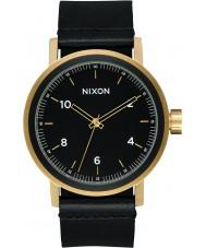 Nixon A1194-1031 Reloj de cuero para hombre